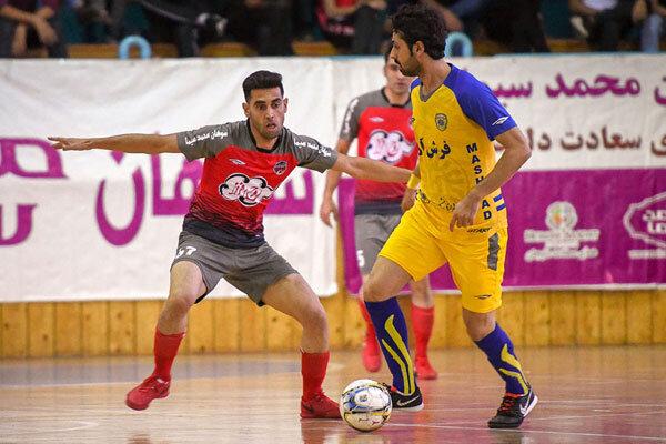 برد حفاری خوزستان در بازی نفس گیر مقابل مس سونگون