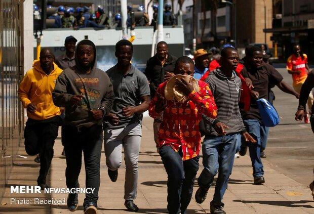 اعتراضات در زیمبابوه