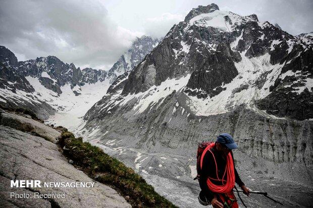 جبال الألب لم تعد صالحة لهوات التزلج
