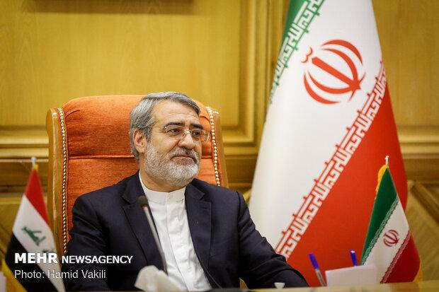 Meeting between Iraqi, Iranian interior ministers in Tehran