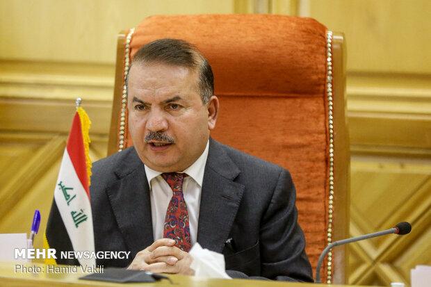 وزير الداخلية العراقي يصل طهران