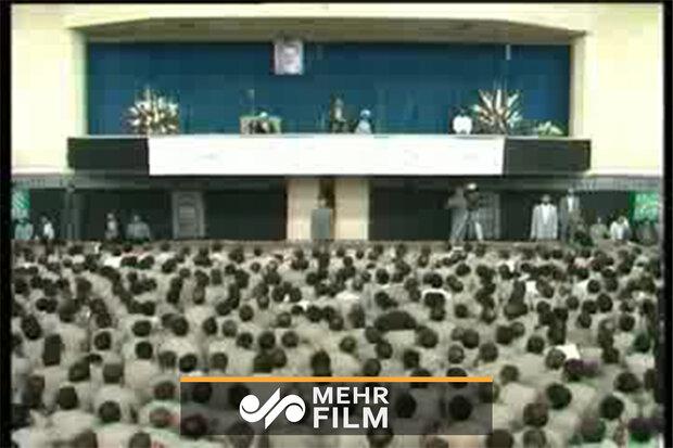 اولین دیدار آزادگان با حضرت آیتالله خامنهای