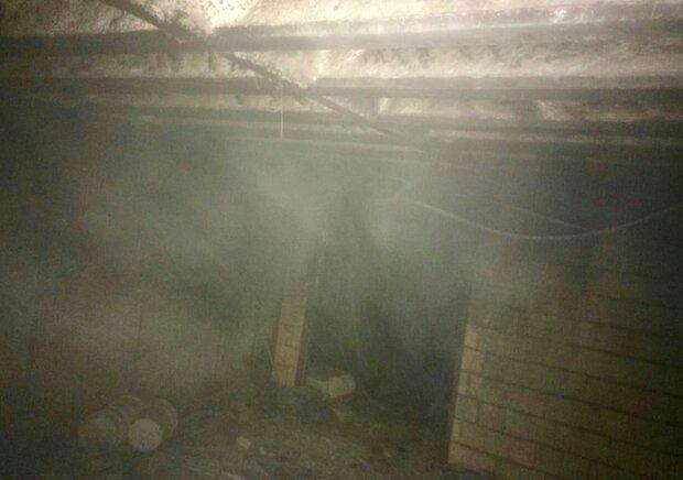 وقوع حریق در بخش های نیمه تمام بیمارستان شیراز