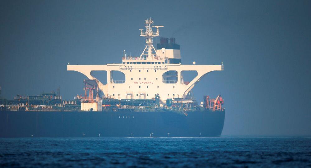 U S  issues warrant to seize Iranian oil tanker Grace 1