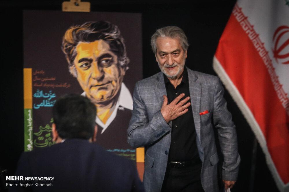 رونمایی از تابلو نام خیابان و سردیس استاد عزتالله انتظامی
