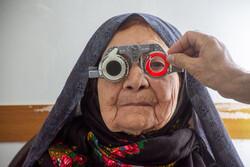 صوبہ زنجان کے پسماندہ علاقوں میں آنکھوں کے ٹیسٹ کا کیمپ