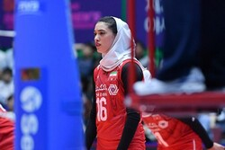 Iran women's volleyball suffers defeat at Asian C'ships