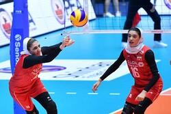 حریفان تیم ملی والیبال بانوان در مرحله دوم مشخص شدند