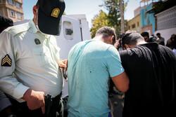 دستگیری زورگیر محله سیزده آبان