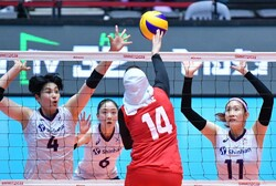 S. Korea too strong for Iran at Asian Women's Volleyball Championship