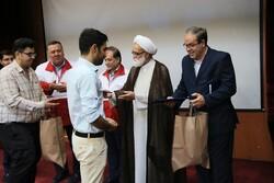 نکوداشت تلاشگران حوزه خدمات هلالاحمر برگزار شد