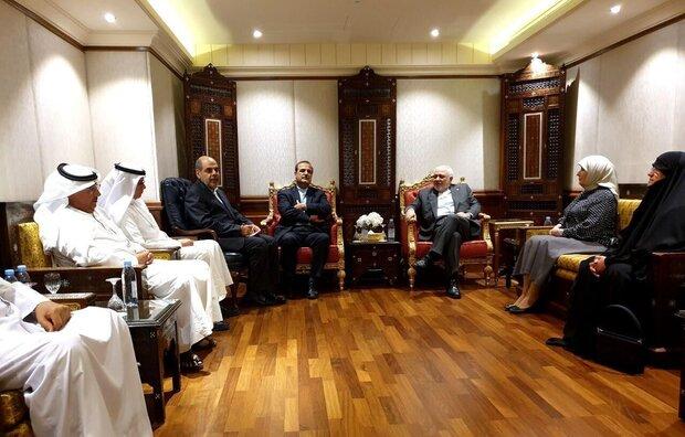 Zarif, Friendship Group discuss boosting ties between Iran, Kuwait