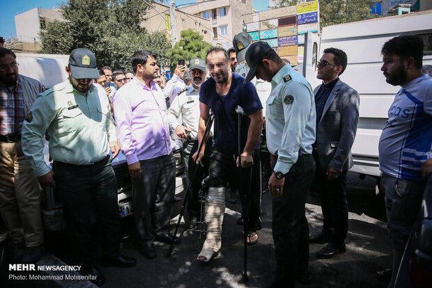 دستگیری سه نفر از اراذل و اوباش