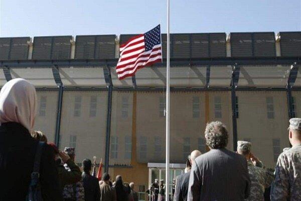 بغداد میں امریکی سفارتخانہ کے قریب 2 راکٹ فائر کئے گئے