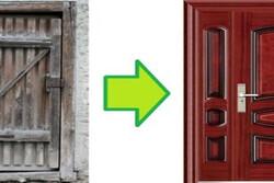 مراحل تعویض درب های ساختمانی با درب های ضد سرقت