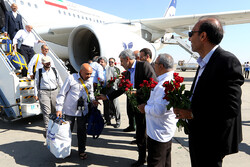 Return of Hajj pilgrims to Iran