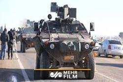 دخول قافلة عسكرية تركية الى شمال سوريا / فيديو