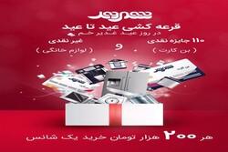 قرعه کشی عید تا عید شهروند با ۱۱۰ جایزه نقدی و غیرنقدی