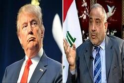 دستور العمل «عبدالمهدی» درباره پهپادهای خارجی/ ائتلاف آمریکایی از عراق خارج میشود؟