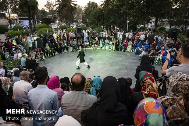 10th street theater 'citizen' festival of Lahijan