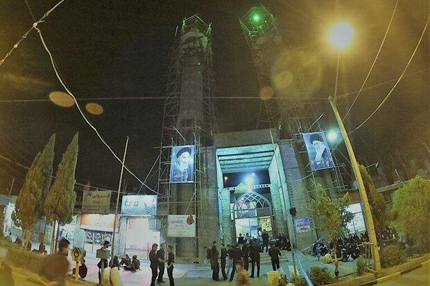 جست و جوی حیات در ایوان مسجد/ سقفی برای آغاز مِهر ماندگار