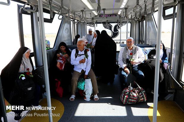Return of Hajj pilgrims to Iran