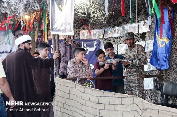اجلاسیه شهدای شهرستان سمنان و نمایش فصل شیدایی
