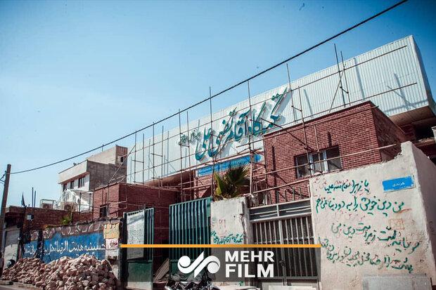 تکیهگاه مرتضی علی (ع) روز عید غدیر افتتاح میشود