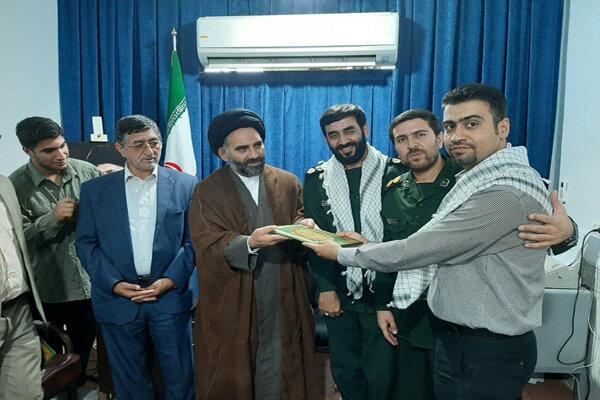 خبرنگار مهر به عنوان خبرنگار برتر حوزه بسیج اصناف تجلیل شد