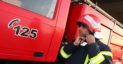 Firefighting vehicles equipped with smart tracking system
