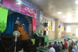 جشن باشکوه عید غدیر در مصلی جمعه گناوه برگزار شد
