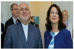 Iranian FM meets Swedish foreign trade minister Tue.