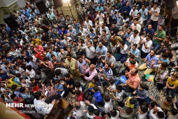 فیلم شادپیمایی مردم شیراز در عید غدیر