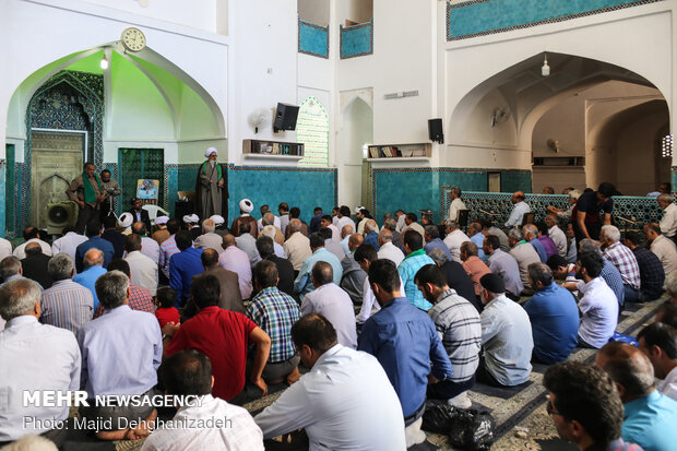 People celebrate Eid al-Ghadir in Yazd