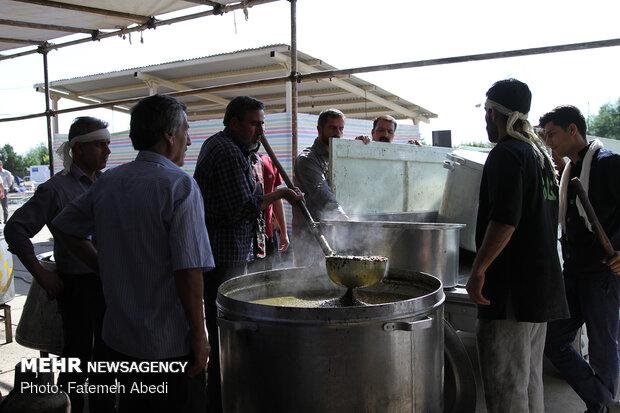 توجه به نکات بهداشتی غذاهای نذری و ظروف یکبار مصرف