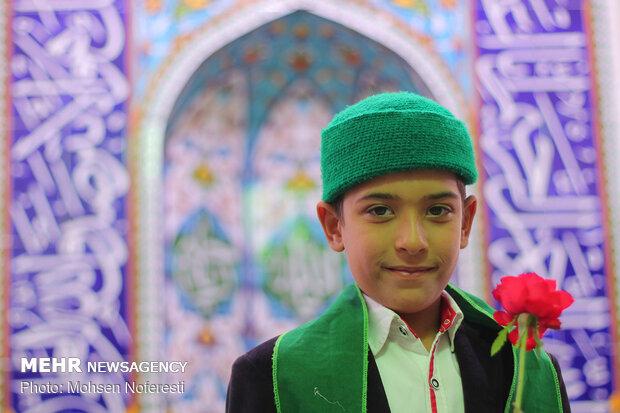 جشن روز غدیر در روستای سیوجان