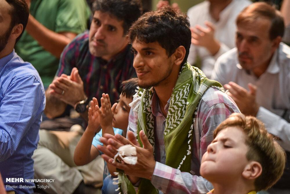 جشن «عید غدیر» در امامزاده قاضی الصابر (ع)