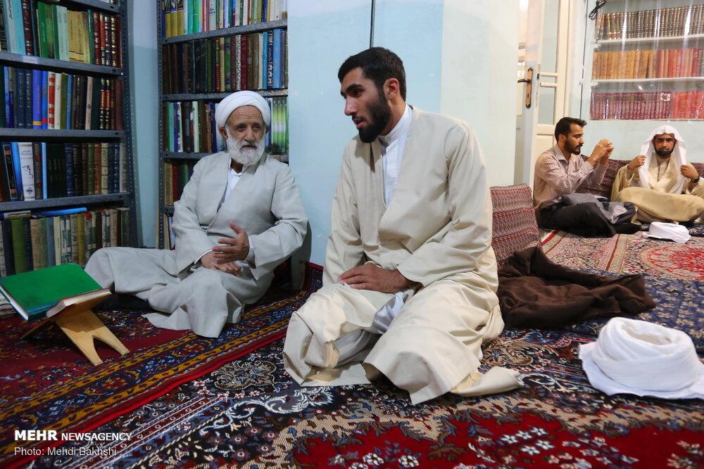 عمامه گذاری طلاب در عید سعید غدیر در قم