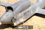 فیلمی از لاشه پهپاد سرنگون شده آمریکایی توسط یمنها