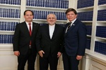 Zarif holds talks with Swedish parliament speaker, PM