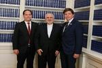 Zarif holds talks with Swedish parliament speaker, PM