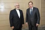 ظریف با نخست وزیر سوئد دیدار و گفتگو کرد