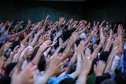 انجمن ریحانۃ الحسین میں محرم کی پہلی شب میں عزاداری