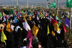 Trekking of people during Eid al-Ghadir in Qom prov.