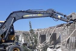 تخریب ۴ بنای غیرمجاز در گرگان