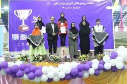 مسابقات کشوری ژیمناستیک در شهرکرد برگزار شد