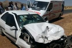 سوانح رانندگی در قزوین ۲ کشته و سه مصدوم بر جای گذاشت