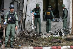 انفجار در تایلند/ دستکم ۷ نفر زخمی شدند