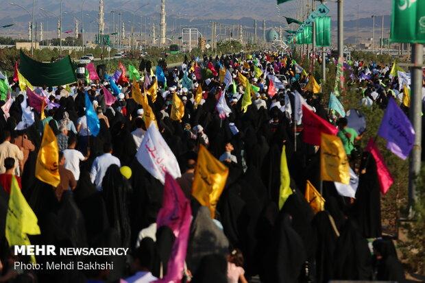 المسيرة الكبيرة احتفالاً بعيد غدير خم في مدينة قم