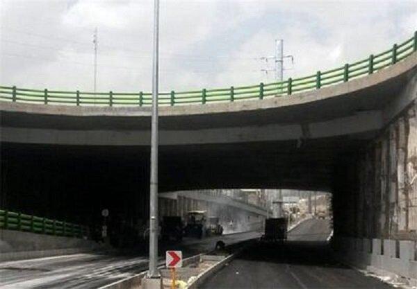گشایش ترافیکی در تقاطع بزرگراه آزادگان